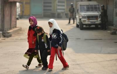 کشمیر میں 4 ماہ سے اسکول بند ہونےکےباوجود امتحانات کا اعلان کردیاگیا