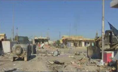 عراقی شہرموصل میں فورسز اور داعش کے درمیان جنگ جاری