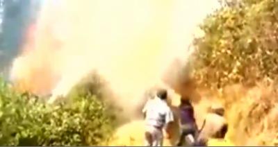 پیرو کے جنگلات میں 11 مقامات پر ایک ہفتے سے لگی آگ نے تباہی مچادی
