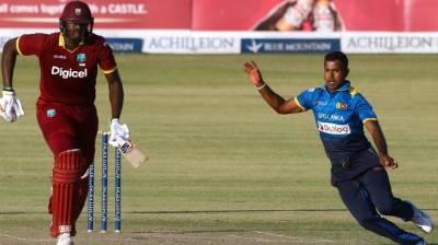 تین ملکی ون ڈے ٹورنامنٹ میں سری لنکا نے ویسٹ انڈیز کو سنسنی خیز مقابلے کے بعد ایک رن سے ہرا دیا