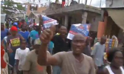 ہیٹی میں صدارتی الیکشن کے نتائج سے قبل ہی مظاہرے پھوٹ پڑے