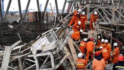 چین میں زیر تعمیر پاور پلانٹ کا ریفریجریشن ٹاور منہدم , سڑسٹھ مزدور ہلاک اور دو زخمی ہوگئے