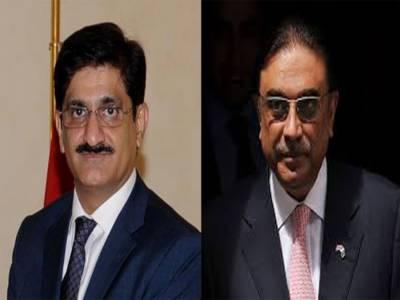 سابق صدر آصف علی زرداری اور وزیراعلیٰ سندھ کی دبئی میں ملاقات