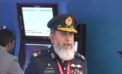 پاکستان دنیا کو دفاعی مصنوعات کی فروخت کےلیے تیار ہے،ایئرفورس نےسمیولیٹر سسٹم تیار کرلیا،دشمن کاکوئی جہاز ہماری پہنچ سے دور نہیں:مارشل فضل محمود