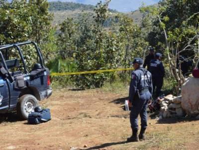 میکسیکو میں اجتماعی قبر سے 32افراد کی مسخ شدہ لاشیں، 9سر برآمد۔ سیکیورٹی ترجمان