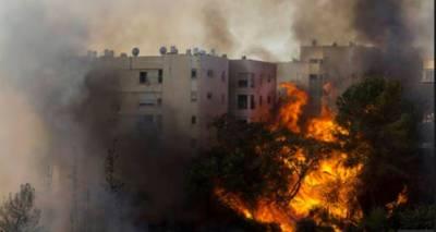 اسرائیل میں لگی آگ چھٹے روز بھی بجھائی نہ جاسکی