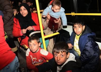 شامی فوج کی حلب میں پیش قدمی، چند گھنٹوں کے دوران کئی ہزارعام شہریوں کی نقل مکانی۔