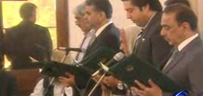 پنجاب کابینہ میں شامل 11 نئے وزرا نے عہدے کا حلف اٹھا لیا