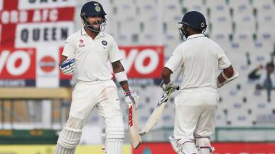 بھارت نے موہالی ٹیسٹ میں انگلیںڈ کو آٹھ وکٹ سے ہرا دیا ۔