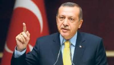 ترک فوج بشار الاسد کی حکومت ختم کرنے کیلئے شام میں داخل ہو گئی: صدر طیب اردوان