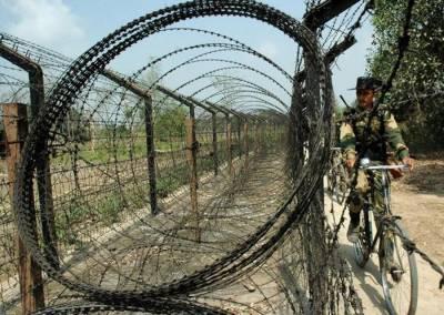 بھارت کا پاکستان اور بنگلہ دیش کی سرحدوں پر جدید ترین باڑ لگانےکا اعلان