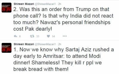 تحریک انصاف کی رہنماء شیریں مزاری نے ہارٹ آف ایشیا میں شرکت پر حکومت کو کڑی تنقید کا نشانہ بنایا
