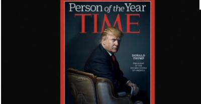 مشہور جریدے ٹائم نے نومنتخب امریکی صدر ڈونلڈ ٹرمپ کو اپنا پرسن آف دی ایئر دو ہزار سولہ قرار دے دیا