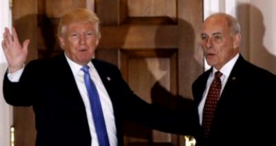 نو منتخب امریکی صدر ڈونلڈ ٹرمپ نے جنرل ریٹائرڈ جان کیلی کو ہوم لینڈ سکیورٹی کا سربراہ مقرر کردیا