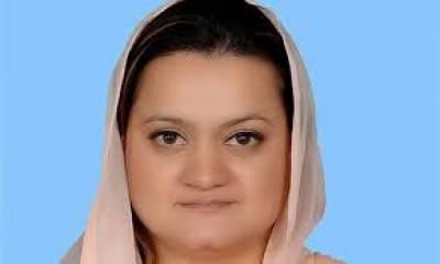 پاکستان دہشت گردی کے ساتھ ساتھ مثالی ترقی کےحصول کی جنگ بھی لڑ رہاہے،حکومتی اقدامات سےامن وامان کی صورت حال میں بہتری آئی ہے: مریم اورنگ زیب