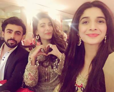 فرحان سعید اور عروہ حسین کی شادی کی پہلی ڈھولکی کی تقریب ،تصاویر منظرعام پر آگئیں