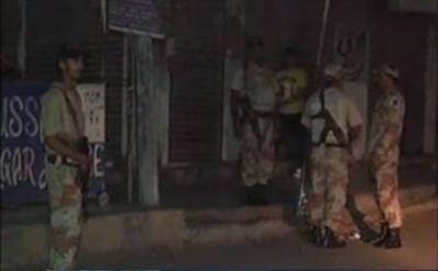 کراچی کے علاقے یوسف گوٹھ میں رینجرز اور دہشتگردوں کے درمیان مقابلے میں3 دہشتگرد مارے گئے