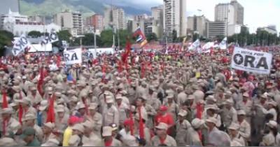 وینزویلا میں نوٹ کی تبدیلی کیخلاف مظاہرہ کرنے والے 300 افراد کو پولیس نے گرفتار کر لیا