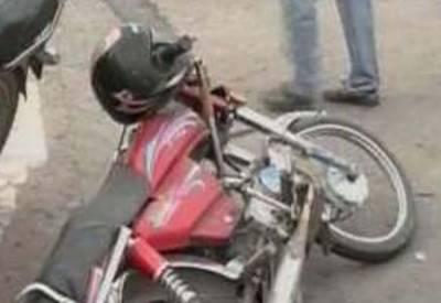 لاہور: رائے ونڈ روڈ پر ٹریلر کی موٹرسائیکل کو ٹکر سے2 طالب علم جاں بحق