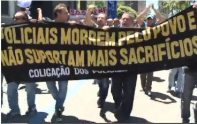 برازیل میں حکومت کی کفایت شاری پالیسی کیخلاف احتجاج جاری