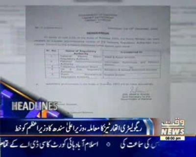 Waqtnews Headlines 08:00 PM 21 December 2016