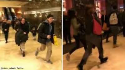 نیویارک میں نو منتخب امریکی صدر ڈانلڈ ٹرمپ کے ٹرمپ ٹاور میں مشکوک بیگ کی موجودگی کی اطلاع پر پولیس اور شہریوں کی دوڑیں لگ گئیں