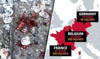 سال 2016 کے دوران یورپی ممالک میں دہشتگردی کا نہ رکنے والی سلسلہ جاری رہا