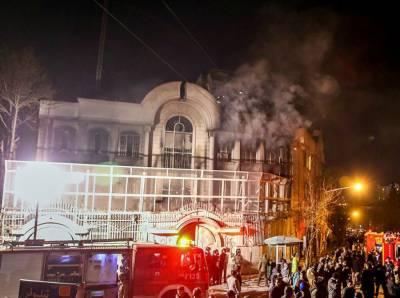 تہران: سعودی سفارت خانے پر حملے کے 5 مجرموں کی اپیل منظور