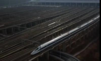 شنگھائی میں ہائی سپیڈ بلٹ ٹرین کھول دی گئی