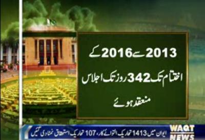 11مئی2013 کوہونےوالے عام انتخابات کے نتیجے میں 379ارکان کوپنجاب اسمبلی کاممبربننےکاموقع ملا