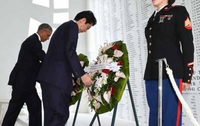 جاپانی وزیراعظم کی پرل ہاربر آمد، ہلاک شدگان کے اہلِ خانہ سے ہمدردی