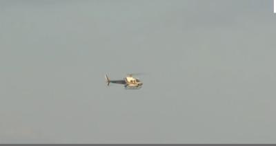 ٹیکساس میں آرمی ائیر نیشنل گارڈ ہیلی کاپٹر گر کر تباہ ہو گیا
