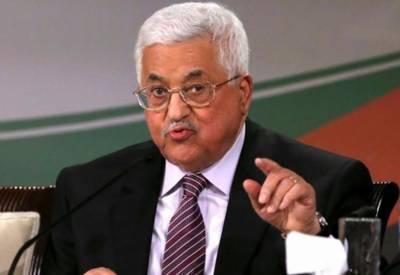 اسرائیل کے ساتھ مشروط مذاکرات بحال کرنے پر تیار ہیں۔ محمود عباس