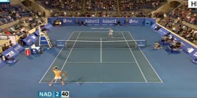 اسپین کے ٹینس سٹار رافیل نڈال نے ورلڈ ٹینس چیمپئن شپ کے سیمی فائنل میں جگہ بنالی