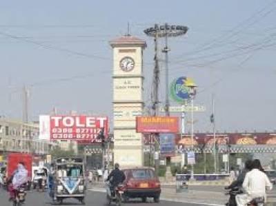 کراچی کے علاقے اورنگی ٹاؤن میں نامعلوم افراد الیکٹرونکس کی دکان کے باہر دستی بم پھینک کر فرار