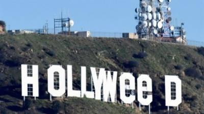 لاس اینجلس میں مشہور زمانہ ہالی ووڈ کے نشان کو نامعلوم افراد نے تبدیل کردیا