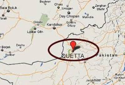 کوئٹہ میں ایف سی کی گاڑی کے قریب دھماکے سے 2ایف سی اہلکاروں سمیت 6 افراد زخمی ہوگئے