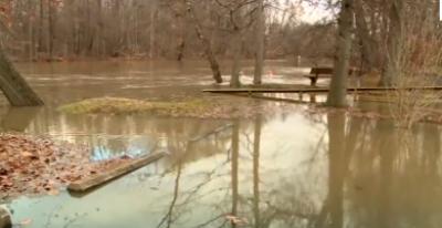 امریکی ریاست اوہائیو میں شدید بارشوں کے بعد ہر شے ڈوب گئی
