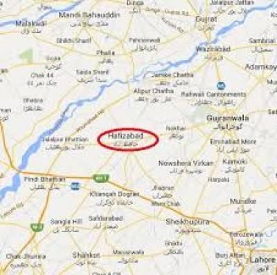 حافظ آباد میں پولیس نے سرچ آپریشن کے دوران 3 ڈاکوؤں سمیت15ملزم گرفتار