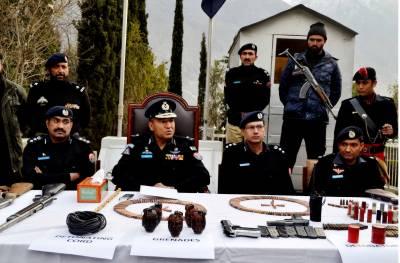 گلگت بلتستان پولیس نےبروقت کارروائی کرتے ہوئےملک دشمن کارروائیوں میں ملوث کالعدم تنظیم کے بارہ ملزمان کو گرفتارکرلیا