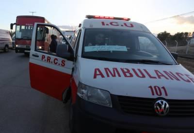 اسرائیلی فوج کے تعاقب کے باعث فلسطینی ٹرک کو حادثہ، 3 افراد زخمی