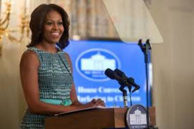 مشیل اوباما بطور خاتون اول اپنا آخری روز وائٹ ہاؤس میں ہی گزار رہی ہیں