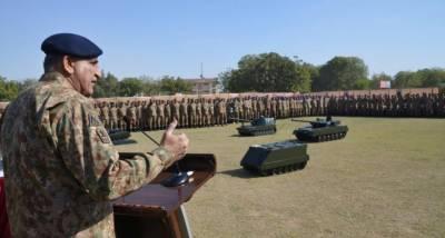 آرمی چیف نے کراچی کے امن دشمنوں کو واضح پیغام دے دیا
