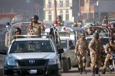 سندھ حکومت کی درخواست پر کراچی میں رینجرز کے اختیارات میں نوے روز کی توسیع کا نوٹیفکیشن جاری کر دیا گیا
