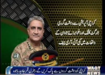 Ready to Respond to any type of threat:COAS Gen Qamar Bajwa