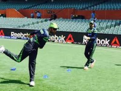 پاکستان کرکٹ ٹیم نے آسٹریلیا کے خلاف پانچویں ون ڈے میچ کے لیے ایڈیلیڈ میں تربیتی سیشن میں حصہ لیا