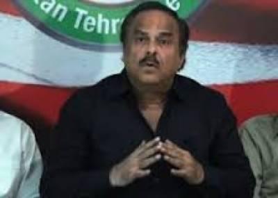 نعیم الحق:ن لیگ نےکرپشن کےتمام رکارڈ توڑ دیے