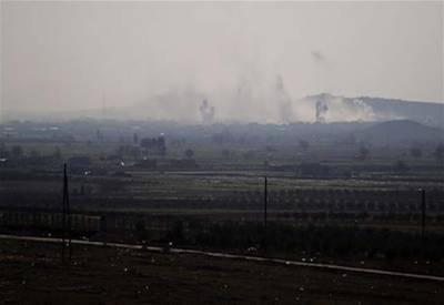 ترک فوج کی شام میں داعش کے خلاف کاروائیاں ،13دہشتگردوں کو ہلاک