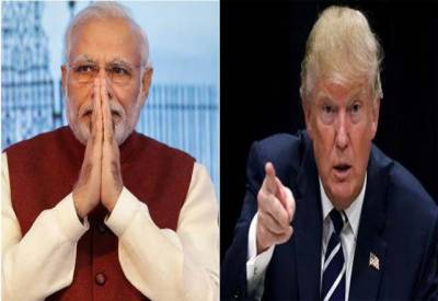 امریکی صدر ڈونلڈ ٹرمپ کا بھارتی وزیراعظم سے ٹیلی فونک رابطہ، دورہ امریکہ کی دعوت