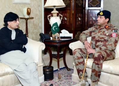 وزیرِ داخلہ نثار علی خان سے آئی جی ایف سی بلوچستان میجر جنرل ندیم احمدانجم کی ملاقات